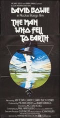 "Movie Posters:Science Fiction, The Man Who Fell to Earth (Lion International, 1976). British Three Sheet (39.5"" X 79""). Science Fiction.. ..."