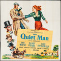 "The Quiet Man (Republic, 1952). Six Sheet (80"" X 79.5""). Drama"