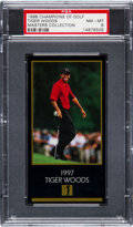 "Golf Cards:General, 1998 Masters of Golf ""Champions of Golf"" Tiger Woods PSA NM-MT 8. ..."