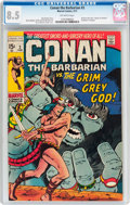 Bronze Age (1970-1979):Adventure, Conan the Barbarian #3 (Marvel, 1971) CGC VF+ 8.5 Off-white pages....