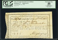 Colonial Notes:Connecticut, State of Connecticut Interest Certificate Feb. 23, 1792 Anderson 49PCGS Apparent Extremely Fine 40, CC.. ...