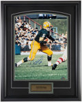 Football Collectibles:Photos, Paul Hornung Signed Oversized Photograph....