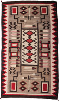 Other, A Navajo Regional Rug with Pictorial Elements. c. 1930...