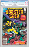 Modern Age (1980-Present):Superhero, Booster Gold #1 (DC, 1986) CGC NM/MT 9.8 White pages....