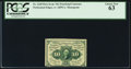 Fractional Currency:First Issue, Fr. 1240 10¢ First Issue PCGS Choice New 63.. ...