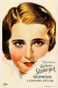 "Shopworn (Columbia, 1932). One Sheet (27"" X 41"") Style A. Ritz Theater Collection"