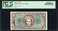 Military Payment Certificates:Series 651, Series 651 $5 PCGS Gem New 65PPQ.. ...