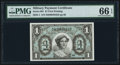 Military Payment Certificates:Series 691, Series 691 $1 PMG Gem Uncirculated 66 EPQ.. ...