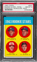 Baseball Cards:Singles (1960-1969), 1963 Topps Pete Rose - 1963 Rookie Stars #537 PSA NM-MT 8....