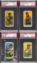 Baseball Cards:Lots, 1909-11 T206 White Borders Collection (19). ...