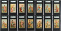 "Non-Sport Cards:Sets, 1889 N117 Duke/Gail & Ax ""Industries of the States"" CompleteSet (25) - #1 on the SGC Set Registry! ..."