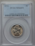 Jefferson Nickels, 1972 5C MS66 Full Steps PCGS. PCGS Population (35/1). NGC Census: (20/3). Numismedia Wsl. Price for problem free NGC/PCGS ...