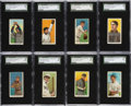 Baseball Cards:Lots, 1909-11 T206 Sovereign SGC Graded Collection (14)....