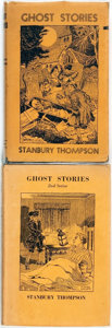 Books:Horror & Supernatural, Stanbury Thompson. Ghost Stories [1st Series]. Ilfracombe: Arthur H. Stockwell, 1948. Third edition, enlarged. O... (Total: 2 Items)