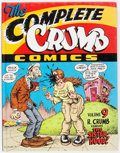 Modern Age (1980-Present):Alternative/Underground, The Complete Crumb Comics #9 Limited Signed Edition #33/400(Fantagraphics Books, 1992) Condition: VF/NM....