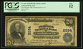 National Bank Notes:Virginia, Charlottesville, VA - $20 1902 Plain Back Fr. 660 The Peoples NBCh. # 2594. ...