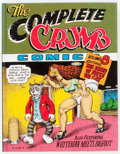 Modern Age (1980-Present):Alternative/Underground, The Complete Crumb Comics #8 Signed Limited Edition #88/400(Fantagraphics Books, 1992) Condition: FN....