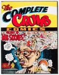 Modern Age (1980-Present):Alternative/Underground, The Complete Crumb Comics #4 Signed Limited Edition #480/600(Fantagraphics Books, 1989) Condition: FN....