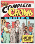 Modern Age (1980-Present):Alternative/Underground, The Complete Crumb Comics #2 Signed Limited Edition #80/100(Fantagraphics Books, 1988) Condition: NM-....