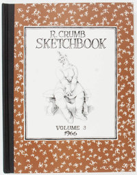 R. Crumb Sketchbook (Second Series) #3 Hardcover Signed Limited Edition #146/400 (Fantagraphics Books, 1993) Condition:...