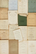 Books:Religion & Theology, [Religion & Theology]. Group of Eighteen Sermons. Various publishers and dates circa 1830....