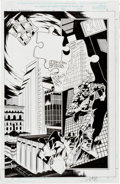 Original Comic Art:Splash Pages, Joe Quesada and Jimmy Palmiotti Daredevil V2#10 Splash Page11 Original Art (Marvel, 2000)....