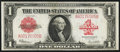 Fr. 40 $1 1923 Legal Tender Very Fine-Extremely Fine