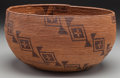 American Indian Art:Baskets, A Maidu Coiled Bowl. c. 1880...