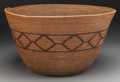 American Indian Art:Baskets, A Large Mission Coiled Storage Basket. c. 1900...