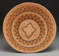 American Indian Art:Baskets, A Large Mission Polychrome Coiled Bowl. c. 1900...