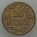 German East Africa, German East Africa: German Colony Pair of 20 Heller Coins 1916-T,... (Total: 2 coins)