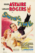 "Movie Posters:Musical, Swing Time (RKO, 1936). One Sheet (27"" X 41"").. ..."