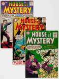 Silver Age (1956-1969):Horror, House of Mystery Group of 16 (DC, 1955-63) Condition: AverageApparent GD/VG.... (Total: 16 Comic Books)