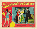 """Movie Posters:Musical, The Broadway Melody (MGM, 1929). Lobby Card (11"""" X 14"""").. ..."""