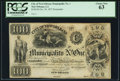 Obsoletes By State:Louisiana, New Orleans, LA- City of New Orleans Municipality No. One $100 Oct. 30, 1837. ...