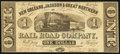 Obsoletes By State:Louisiana, New Orleans, LA-New Orleans, Jackson & Great Northern Rail Road Company $1 Nov. 16, 1861. ...
