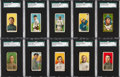 Baseball Cards:Lots, 1909-11 T205 Gold Border and T206 White Border Baseball Collection(100+). ...