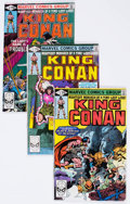 Modern Age (1980-Present):Science Fiction, King Conan Box Lot (Marvel, 1981-87) Condition: Average VF/NM....