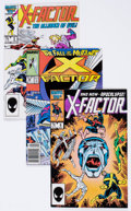 Modern Age (1980-Present):Superhero, X-Factor Group of 6 (Marvel, ) Condition: Average VF/NM.... (Total:6 Comic Books)