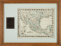 Miscellaneous:Maps, [Map]. G[eorge] W[oolworth] & C[harles] B. Colton'sMexico....