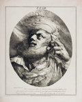 Books:Prints & Leaves, [William Shakespeare]. Lear. [King Lear, Act III: Scene 3].[London]: J. Mortimer, March 15, 1776....