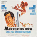 """Movie Posters:Action, Murderers' Row (Columbia, 1966). Six Sheet (78"""" X 80""""). Action.. ..."""