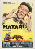 "Movie Posters:Adventure, Hatari! (Paramount, 1962). Italian 2 - Foglio (39.5"" X 55""). Adventure.. ..."