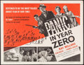 """Movie Posters:Science Fiction, Panic in Year Zero (American International, 1962). Half Sheet (22"""" X 28""""). Science Fiction.. ..."""