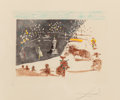 Prints, Salvador Dalí (1904-1989). Tauromachie surréaliste, 1966-67. The complete set of seven heliogravures with drypoint and h... (Total: 7 Items)