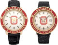 Football Collectibles:Others, 1973 and 1974 Oklahoma Sooners Championship Presentational Watches Lot of 2....