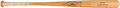 Baseball Collectibles:Bats, 1965-68 Curt Flood Game Used, Signed Bat. ...