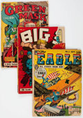 Golden Age (1938-1955):Miscellaneous, Fox Features Group of 3 (Fox Features Syndicate, 1941) Condition: Average PR.... (Total: 3 Comic Books)
