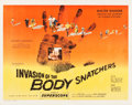"Movie Posters:Science Fiction, Invasion of the Body Snatchers (Allied Artists, 1956). Half Sheet(22"" X 28"") Style A.. ..."