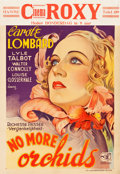 "Movie Posters:Drama, No More Orchids (Columbia, 1932). Pre-War Belgian (24"" X 35"").. ..."